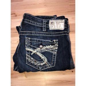 Silver jeans Nasuki bootcut size 30x33